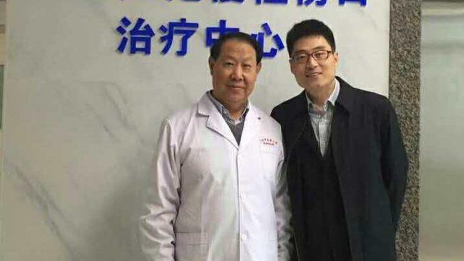 慢伤前沿范晓东先生到广东压疮慢性伤口治疗中心参观交流