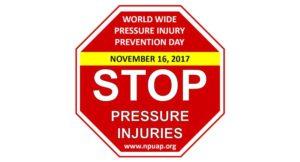 2017年全球压力损伤预防日标志