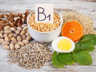 缺乏维生素B1容易导致易抑郁